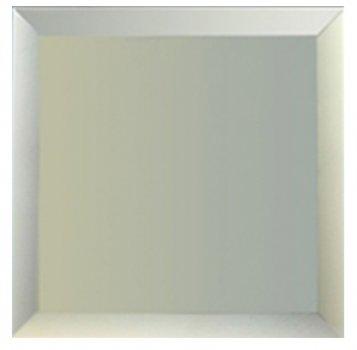 Дзеркальна плитка UMT 200х200 мм фацет 15 мм срібло (ПФС 200-200)