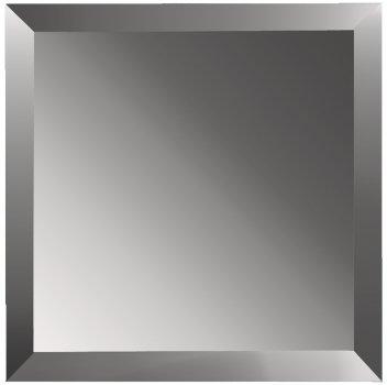Дзеркальна плитка UMT 300х300 мм фацет 15 мм графіт (ПФГ 300-300)