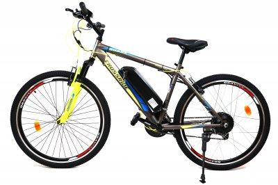 Електровелосипед SHARK 350Вт 10 ач з LCD пультом управління сірий