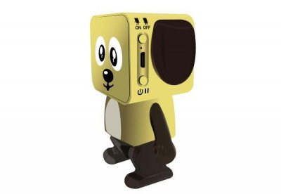 Портативна акустика NOMI Dancing Dog BT 911 Yellow