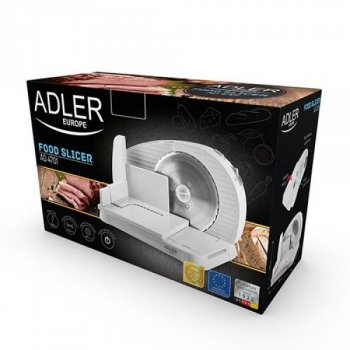 Ломтерезка слайсер Adler AD 4701, мощность 200Вт