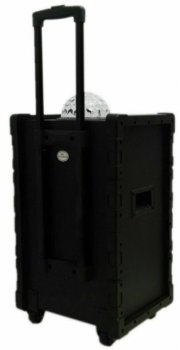 Колонка аккумуляторная DMS K10-10FZ (Bluetooth, USB, MP3, Wireless LED)