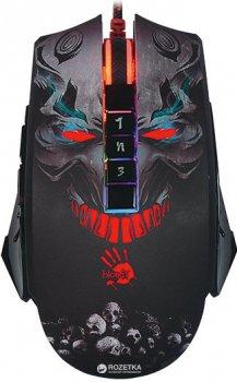 Миша Bloody P85A USB Black Skull (4711421929028)