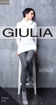 Колготки Giulia Voyage 180 Den Light Melange