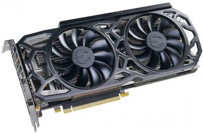 EVGA PCI-Ex GeForce GTX 1080 Ti Black Edition Gaming 11GB GDDR5X (352bit) (1480/11016) (DVI, HDMI, 3 x DisplayPort) (11G-P4-6391-KR)