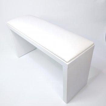 Подлокотник для маникюра на ножках белый