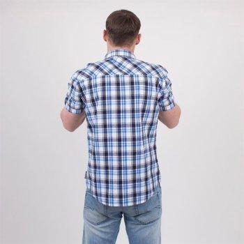 Джинсовая рубашка Montana 557215 синяя