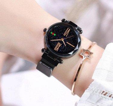 Часы наручные Starry Sky Watch женские черные PPU-189662