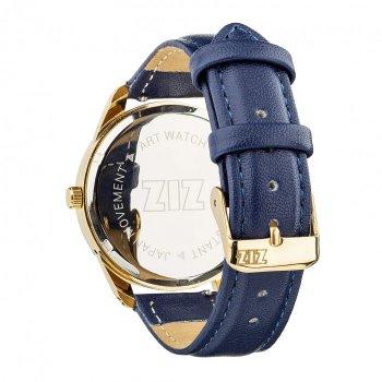 Часы наручные Ziz Минимализм ремешок ночная синь золото и дополнительный ремешок PPU-142880