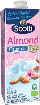 Миндальное молоко Riso Scotti органическое с сиропом агавы 1 л (8001860222658)