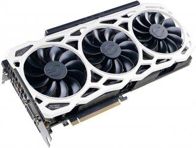 EVGA PCI-Ex GeForce GTX 1080 Ti FTW3 Elite Gaming White 11GB GDDR5X (352bit) (1569/11016) (DVI, HDMI, 3 x DisplayPort) (11G-P4-6796-K1)