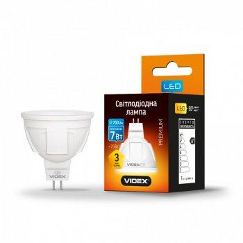 Лампа Videx світлодіодна 7 Вт; 4100 к, білий (AS 512025)