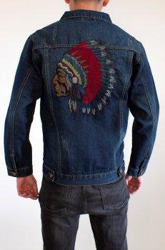 Чоловіча джинсова куртка Cherokee Dark Blue