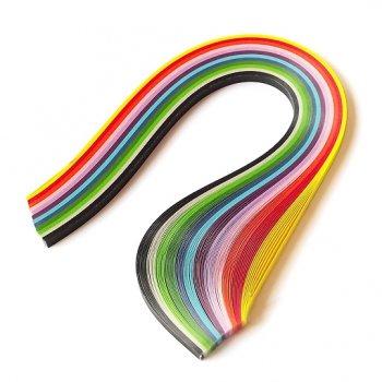 Набор полосок для квиллинга 3 мм Stewart Studio Радуга, 12 цветов, 100 шт. 2-5590