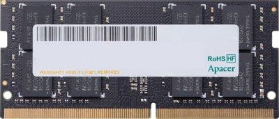 Оперативная память Apacer SODIMM DDR4-2133 4096MB PC4-17000 (ES.04G2R.LDH)