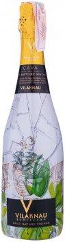 Вино игристое Vilarnau Sleever Brut Nature Reserva белое брют 0.75 л 11.5% (8410023016292)