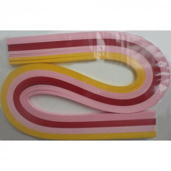 Набір смужок паперу для квілінгу 1 Вересня № К6 100 шт. (КВ-06)
