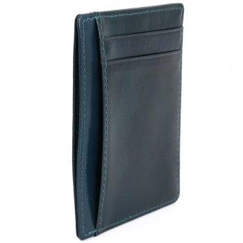 Картхолдер кожаный Traum 77111-63 Тёмно-синий (4820007111631)