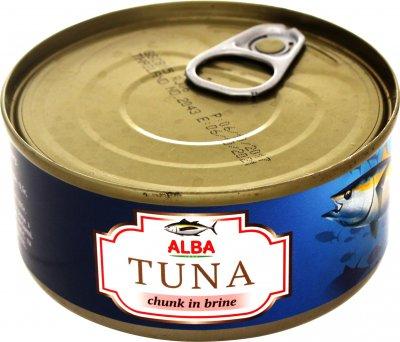 Тунец в собственном соку Alba Food Целый 150 г (8852111028020)