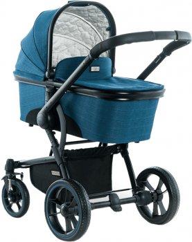 Универсальная коляска 2 в 1 Moon Kombi COOL Blue (63840200-003)