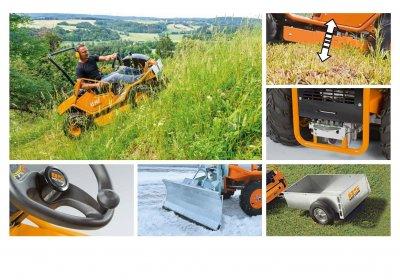 Газонокосилка AS-MOTOR AS 940 Sherpa 4WD 90 см