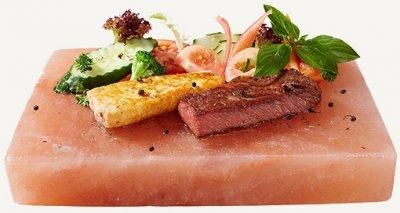 Плита Himalayan Chef из натуральной гималайской розовой соли 1 кг (818581010178)