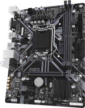 Материнская плата Gigabyte H310M S2 (s1151, Intel H310, PCI-Ex16)