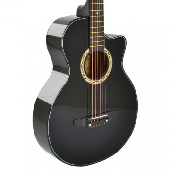 Акустическая гитара Avzhezh ZG-103 Black