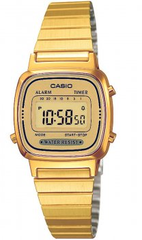 Жіночий годинник CASIO LA670WEGA-9EF