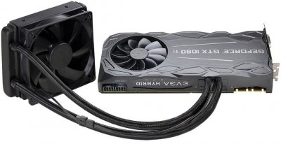 EVGA PCI-Ex GeForce GTX 1080 Ti FTW3 Hybrid Gaming 11GB GDDR5X (352bit) (1569/11016) (DVI, HDMI, 3 x DisplayPort) (11G-P4-6698-KR)