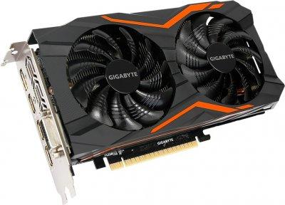 Gigabyte PCI-Ex GeForce GTX 1050 TI G1 Gaming 4GB GDDR5 (128bit) (1366/7008) (DVI, 3 x HDMI, DisplayPort) (GV-N105TG1 GAMING-4G)