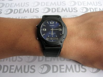 Наручний годинник Casio AW-49HE-2AVEF
