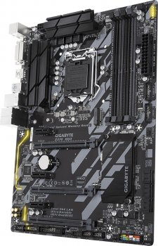 Материнська плата Gigabyte Z370 HD3 (s1151, Intel Z370, PCI-Ex16)
