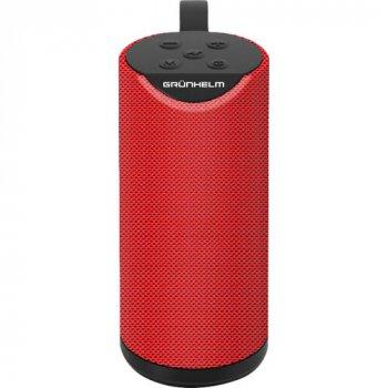 Портативная акустика GRUNHELM GW-60-R Red