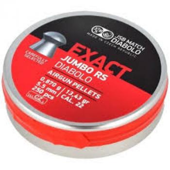 Кулі пневм JSB Exact Jumbo RS 5,52 мм , 0,87 г, 250 шт/уп