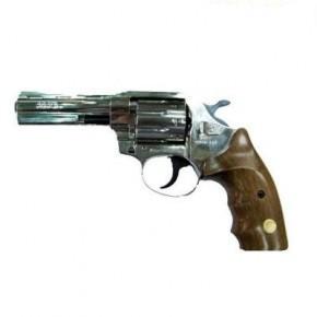 Револьвер під патрон Флобера ALFA model 461 (нікель, дерево)