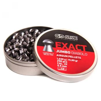 Пули пневм JSB Exact Jumbo 5,51 мм , 1,03 кг, 250 шт/уп