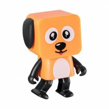 Колонка портативная Bluetooth SK Dancing Dog оранжевый