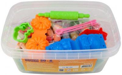 Цветное тесто для лепки Kite Jolliers 50 шт + инструменты (K19-138)