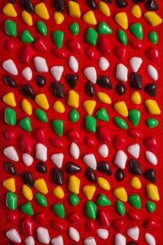 Масажний килимок Ортопед 200*40 см Червоний