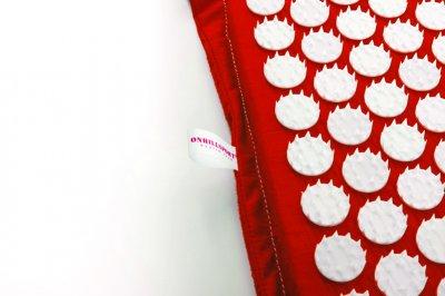 Масажний килимок (аплікатор Кузнєцова) 47*43 см Червоний