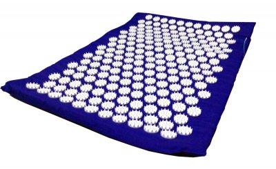 Масажний килимок (аплікатор Кузнєцова) Релакс 55*40 см Синій