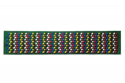 Масажний килимок Ортопед 200*40 см Зелений