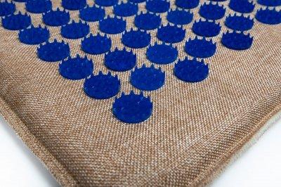 Масажний килимок (аплікатор Кузнєцова) Lounge Maxi 80*50 см Синій