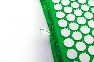 Масажний килимок (аплікатор Кузнєцова) 47*43 см Зелений
