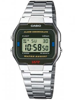 Годинник CASIO A163WA-1QES Collection 33mm 3ATM
