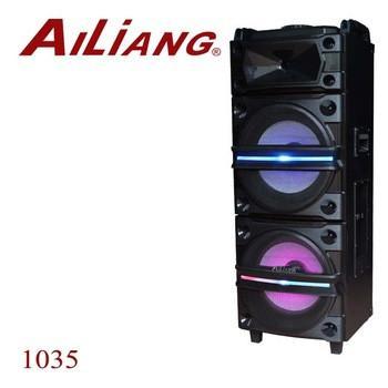 Колонка блютуз акумуляторна UF-1035 12x2 динаміка з 2 мікрофонами Ailiang