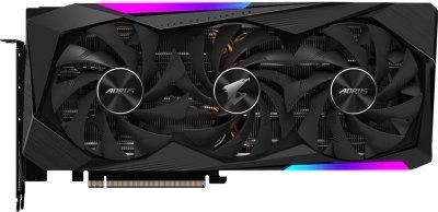Gigabyte PCI-Ex GeForce RTX 3060 Ti Aorus Master 8G 8GB GDDR6 (256bit) (1665/14000) (3 х HDMI, 3 x DisplayPort) (GV-N306TAORUS M-8GD)