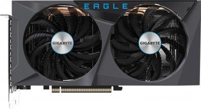 Gigabyte PCI-Ex GeForce RTX 3060 Ti Eagle 8G 8GB GDDR6 (256bit) (1665/14000) (2 х HDMI, 2 х DisplayPort) (GV-N306TEAGLE-8GD)