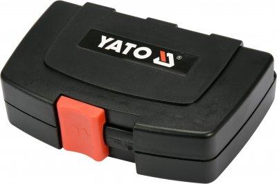 """Набор отверточных насадок YATO с держателем 1/4"""" 45 шт (YT-04620)"""